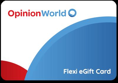 OpinionWorld Flexi card